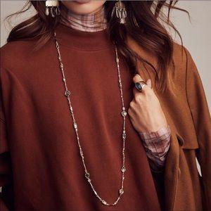 Kendra Scott Yazmin Sable Mix necklace NWT